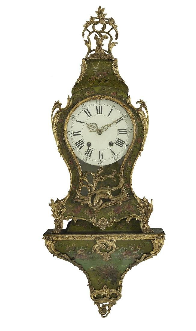 French Bronze-Mounted Bracket Clock