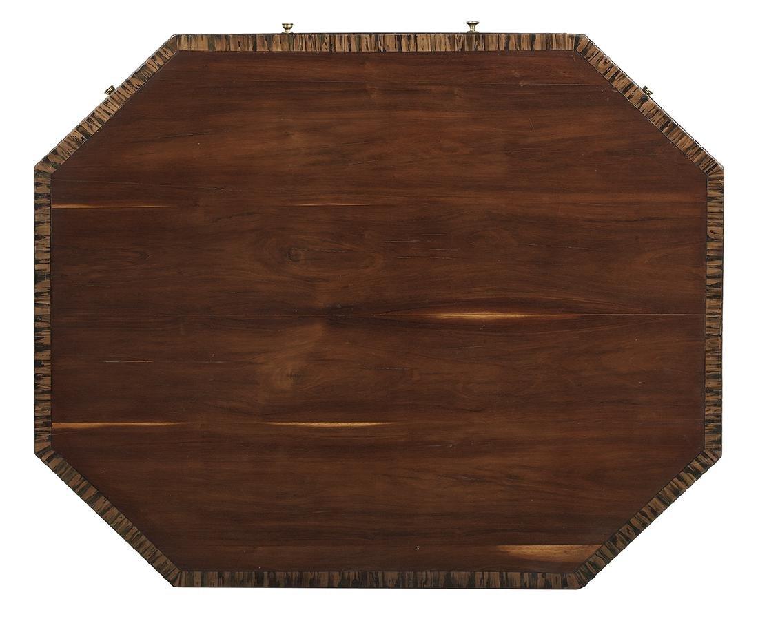 Regency Mahogany Center Table - 3