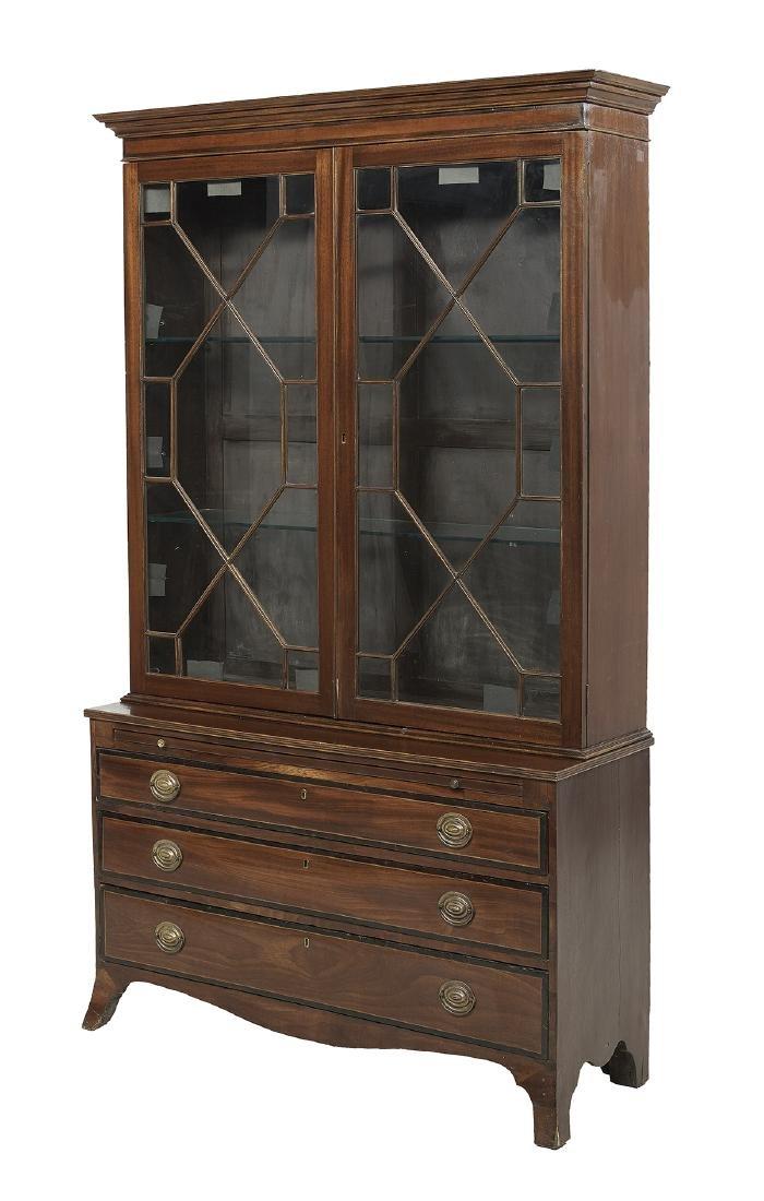 Late Regency Mahogany Bookcase - 2
