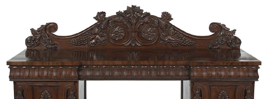 Important Irish Regency Mahogany Sideboard - 3
