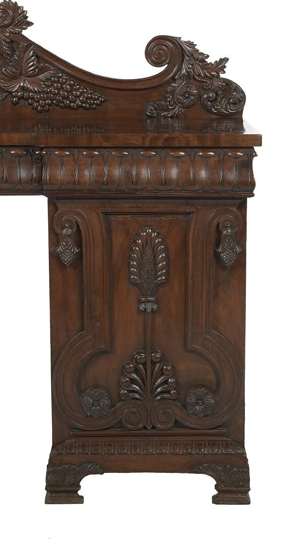 Important Irish Regency Mahogany Sideboard - 6