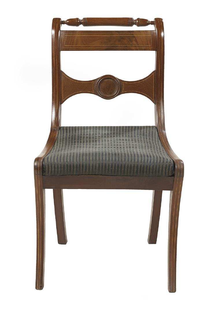 Suite of Six Regency-Style Mahogany Side Chairs - 2