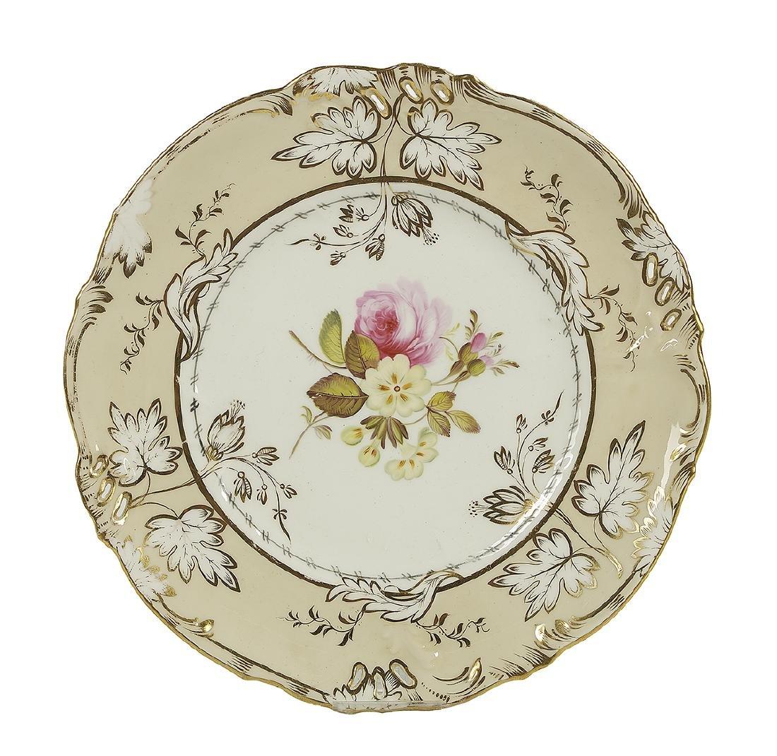 Handsome English Porcelain Dessert Service - 2