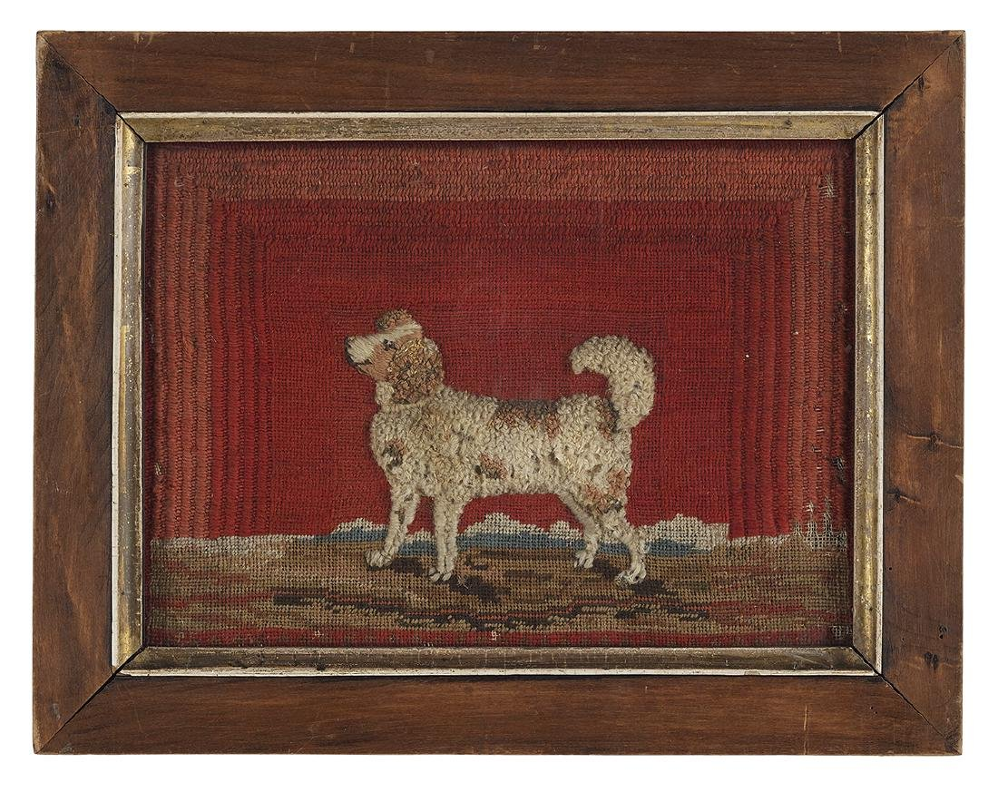 Four Embroideries of Spaniels and Other Dogs - 4