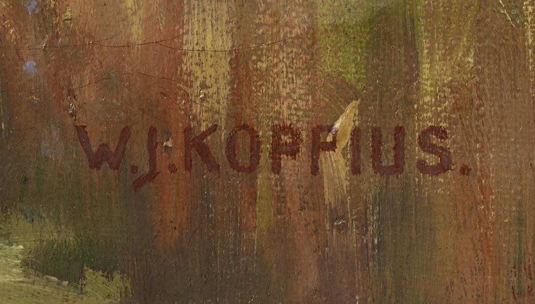 Wilbrandus Joannes Koppius (Dutch, 1859-1945) - 2