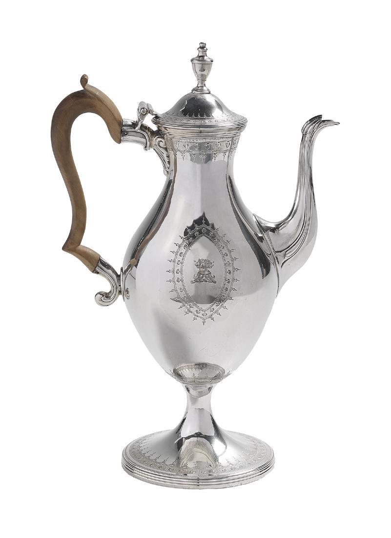 George III Sterling Silver Coffeepot