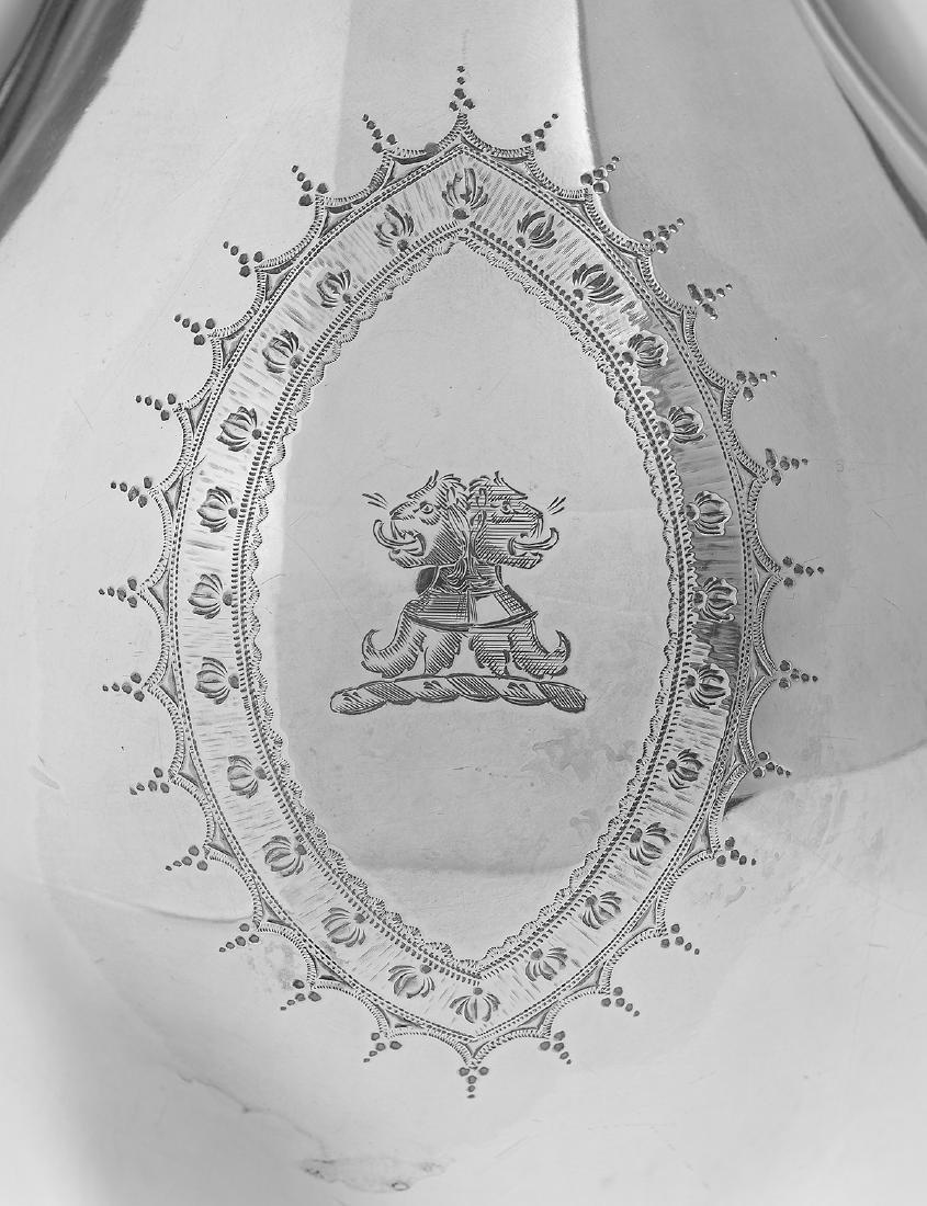 George III Sterling Silver Coffeepot - 2