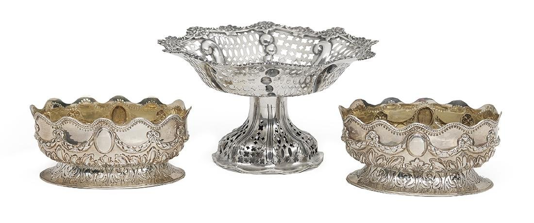 3 Pieces of Victorian Sterling Silver Tableware