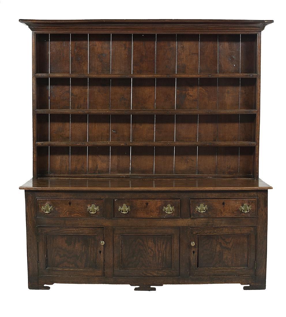 English Oak Welsh Dresser