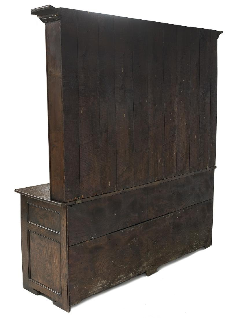 English Oak Welsh Dresser - 2
