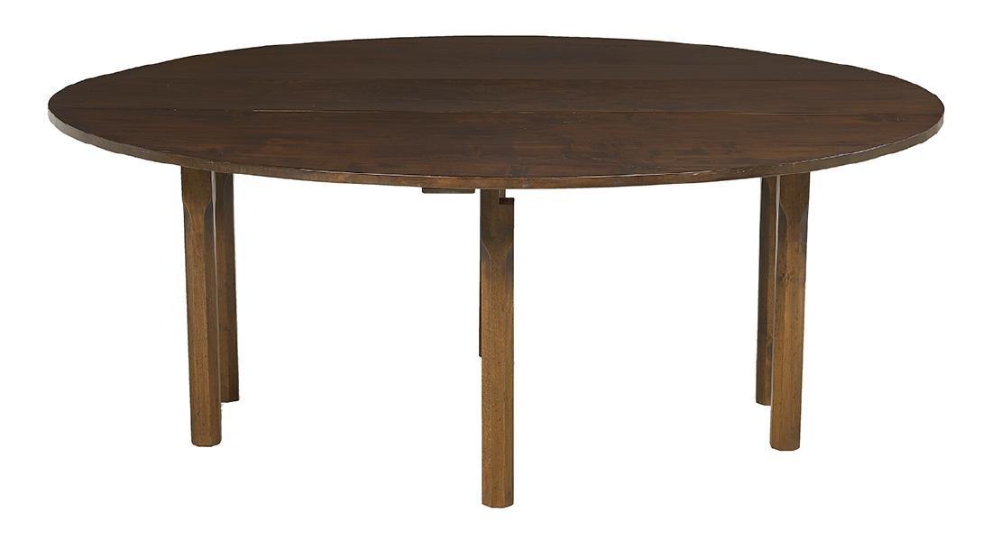 Irish Mahogany Hunt Table - 2