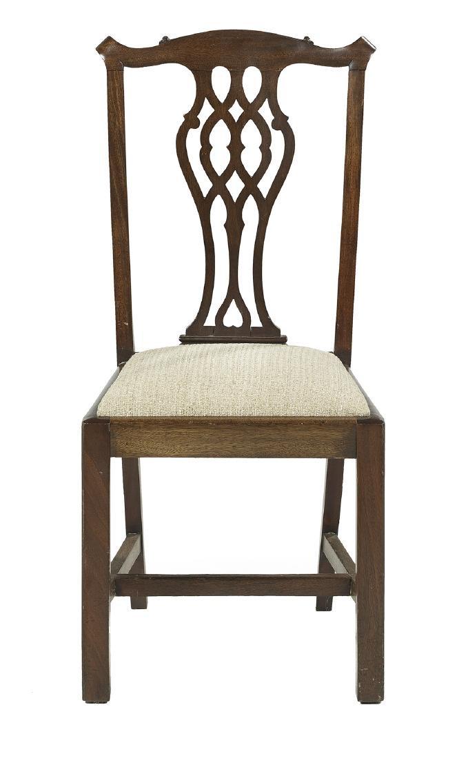 Twelve George III-Style Mahogany Dining Chairs - 2