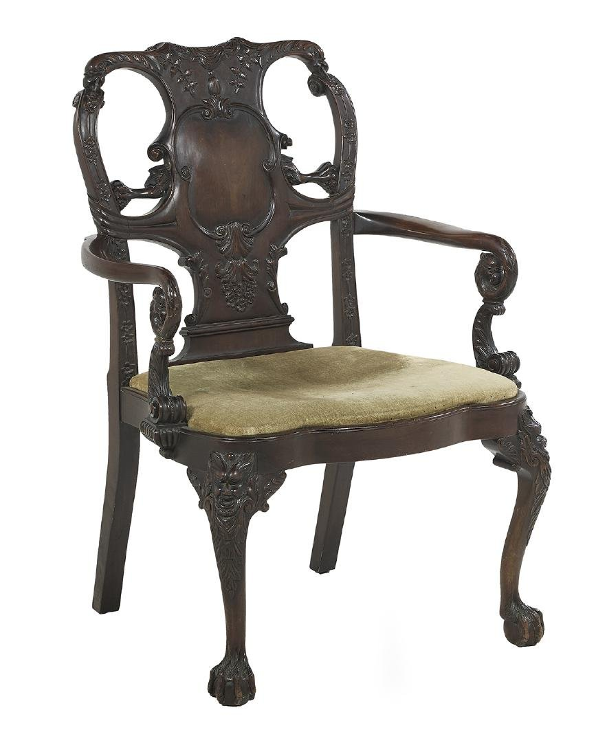 Group of Three George III-Style Mahogany Chairs - 2