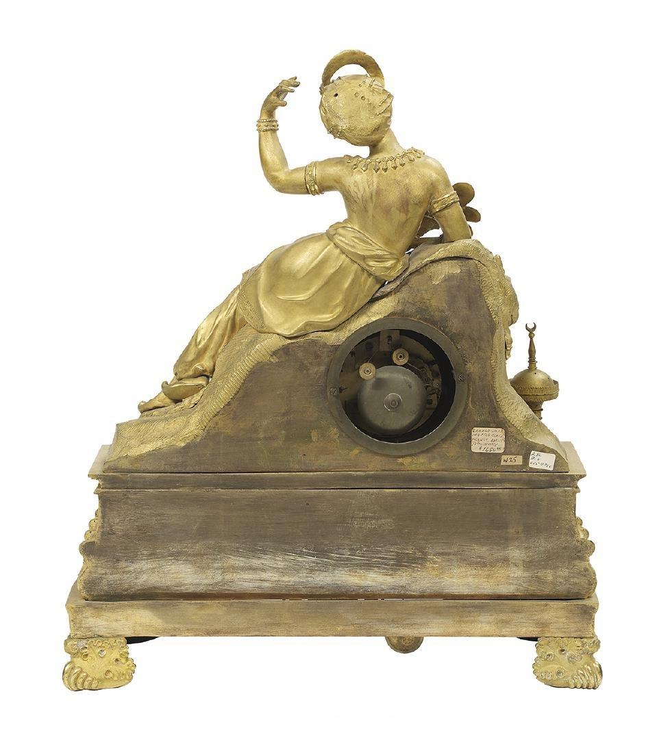 Louis-Philippe Gilt-Bronze Mantel Clock - 2