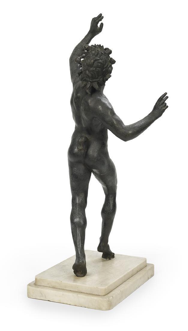 Italian Patinated Bronze of the Dancing Faun - 2