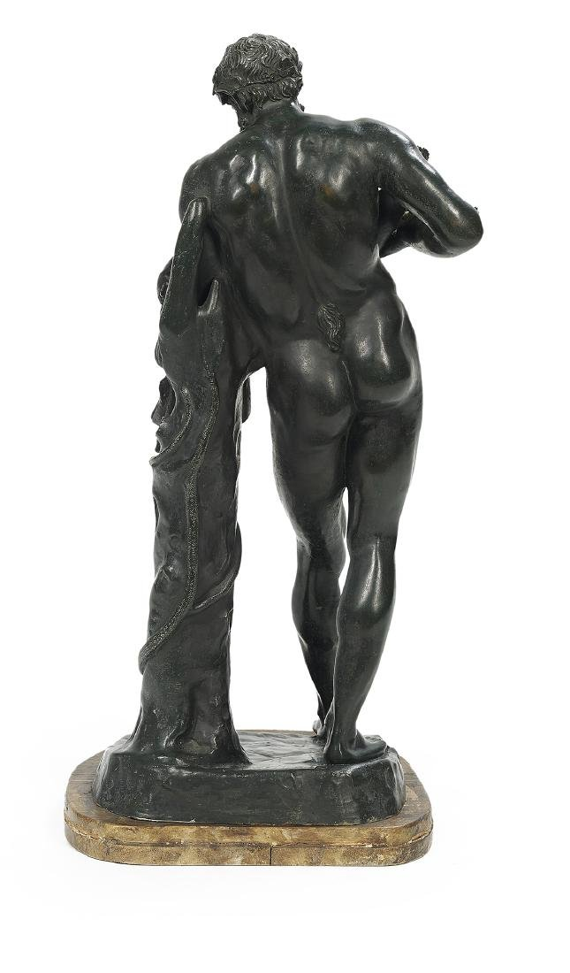Italian Patinated Bronze of Silenus and Dionysus - 2