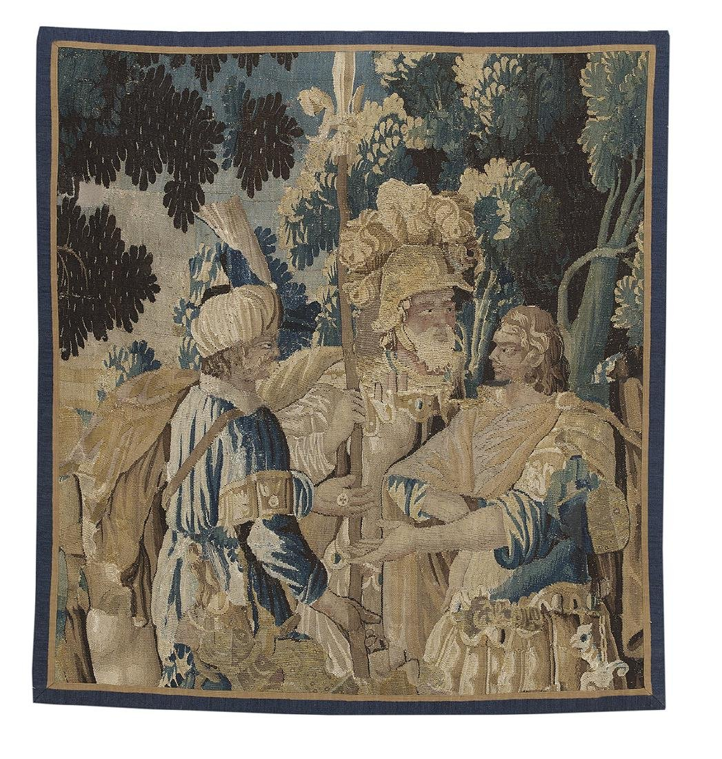 Hand-Woven Flemish Tapestry