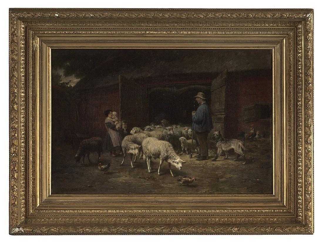 Andre Plumot (Belgian, 1829-1906)