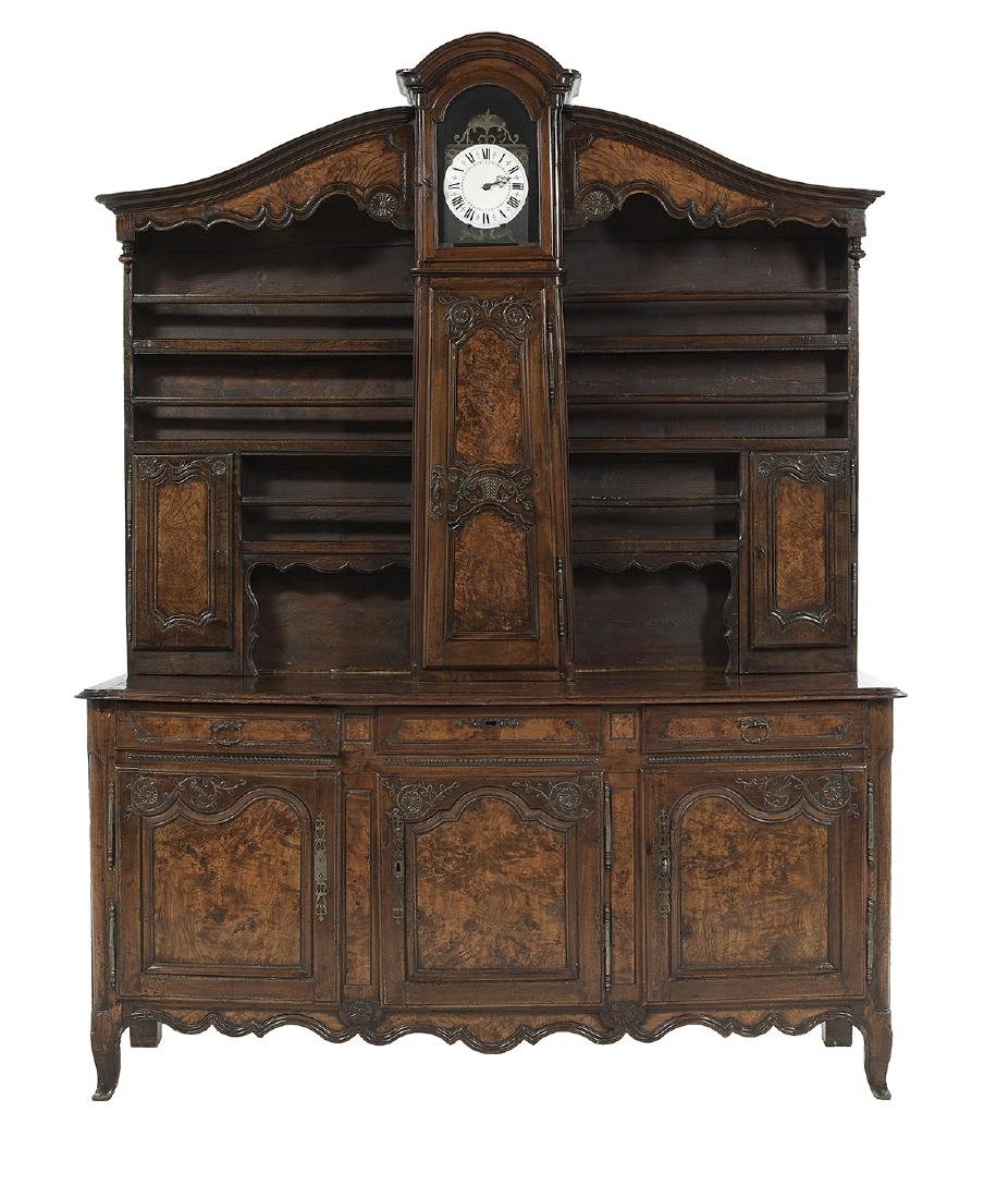 Provincial Louis XV-Style Fruitwood Vaisselier
