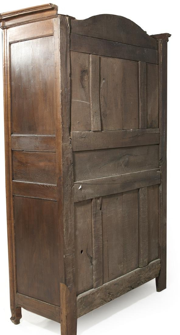 French Provincial Fruitwood Armoire - 4