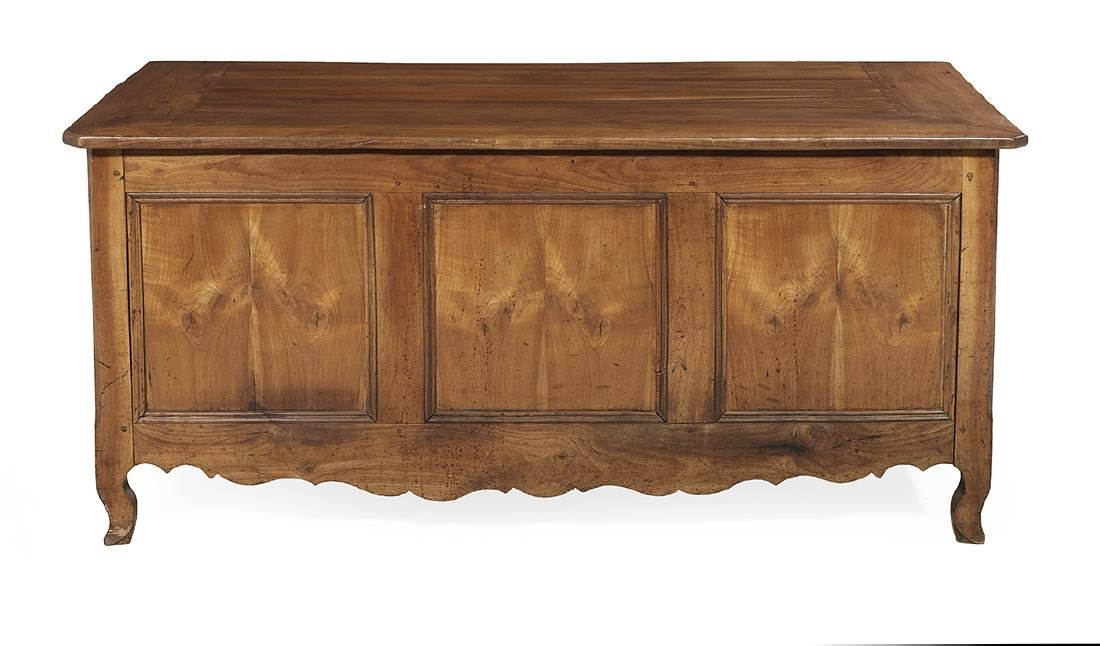 French Provincial Fruitwood Coffer