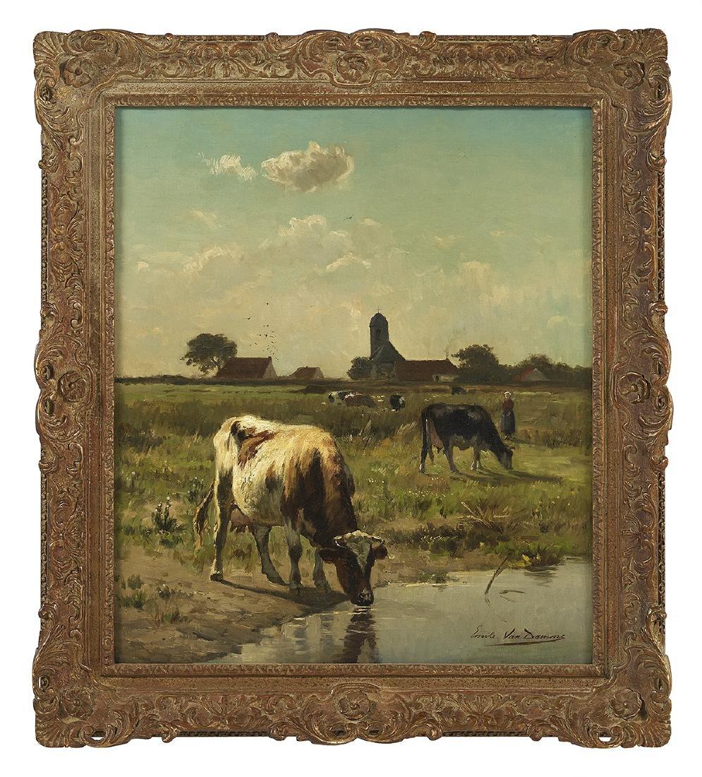 Emile van Damme-Sylva (Belgium, 1853-1935)