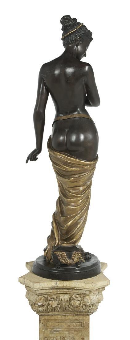 "Patinated and Gilt-Bronze Figure of ""Venus"" - 3"