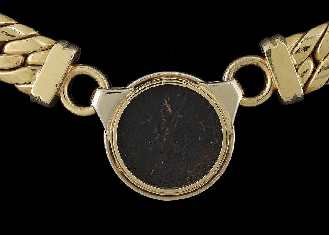 """Italian """"Roman Coin"""" Necklace - 3"""
