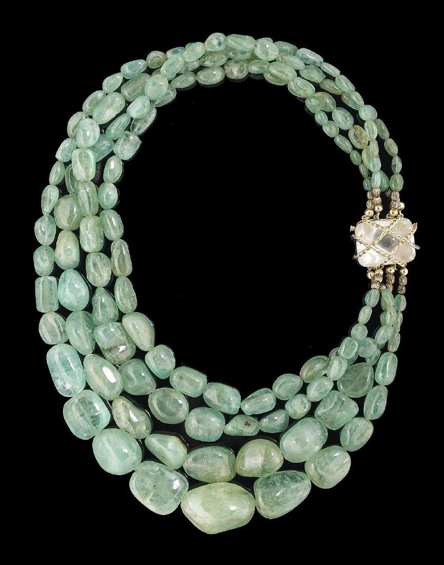 Seaman Schepps Emerald Necklace
