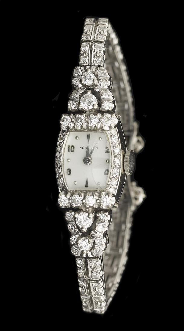 Lady's Hamilton Diamond Watch
