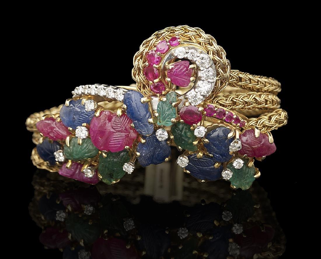 Tutti Frutti-Style Bracelet