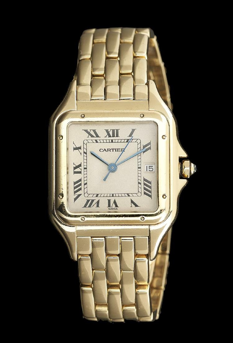 Gentleman's Cartier Panther Wristwatch