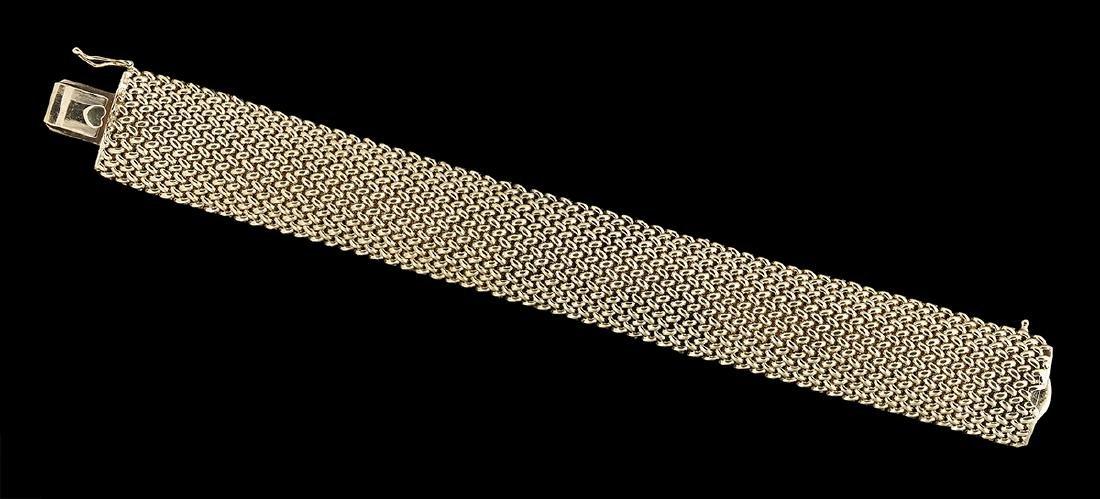 Woven Gold Bracelet - 2