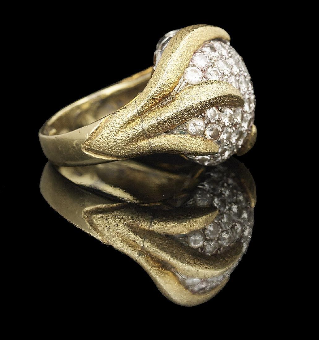Unusual Diamond Ring - 2