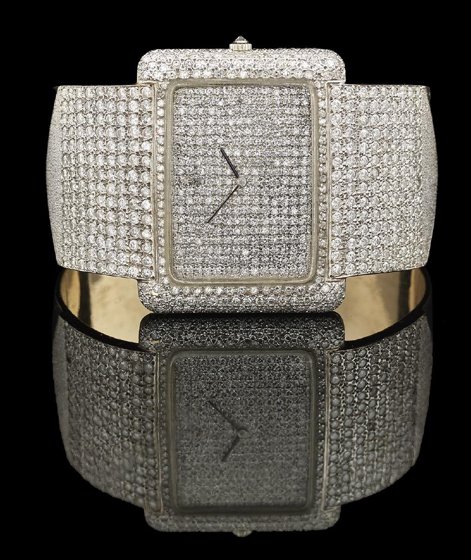 Corum Lady's Diamond Cuff Watch