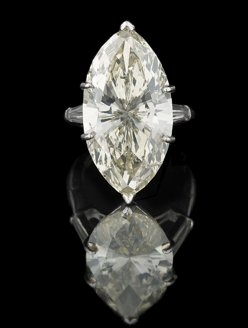 Stunning Marquise-Cut Diamond Ring