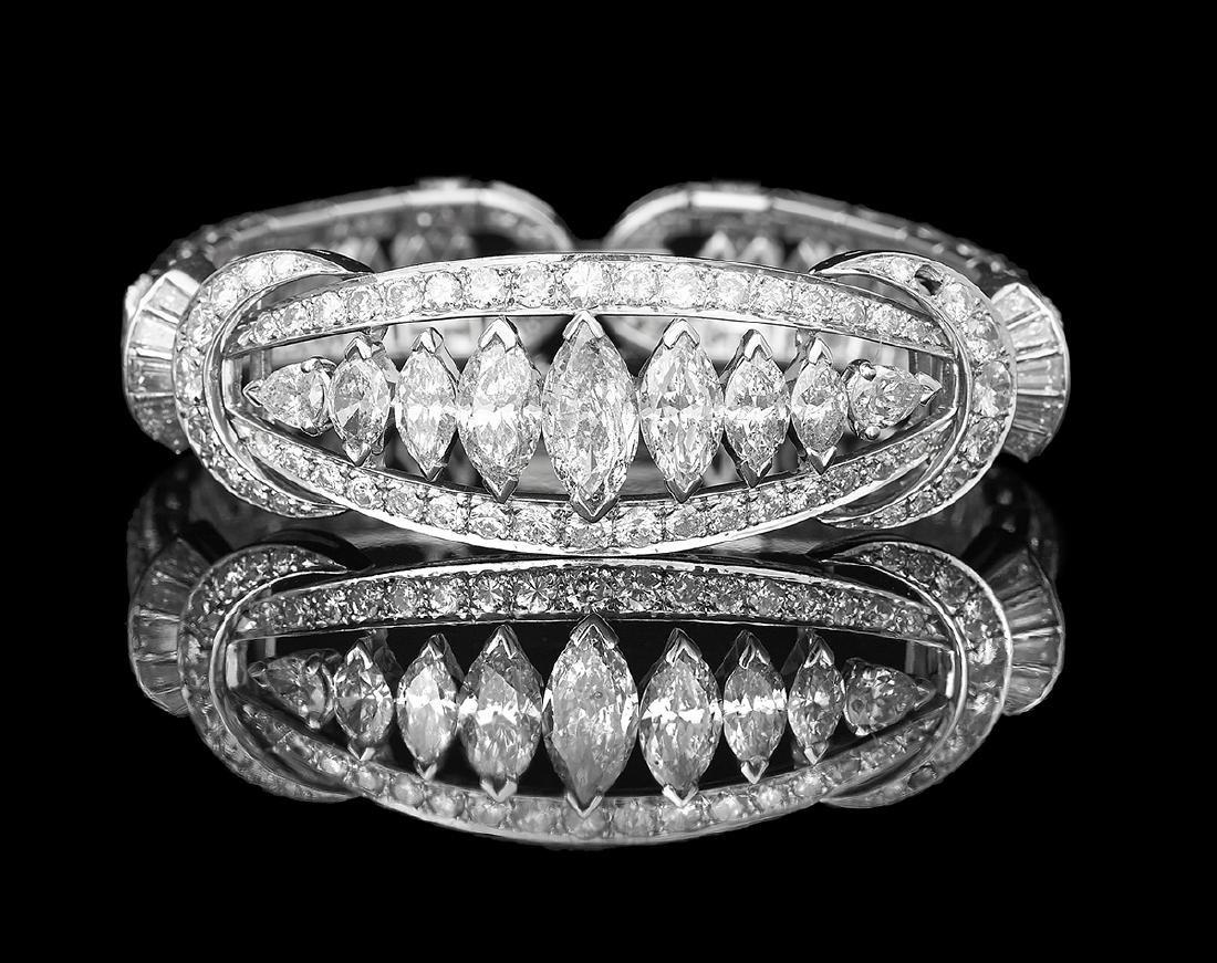 Custom-Made Diamond Bracelet