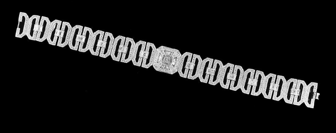Custom-Made Diamond Bracelet - 2