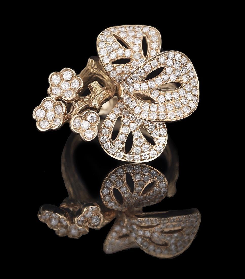 Whimsical Diamond Ring