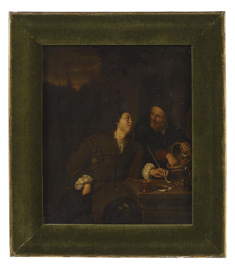 Circ. of Frans van Mieris d.a. (Dutch, 1635-1681)