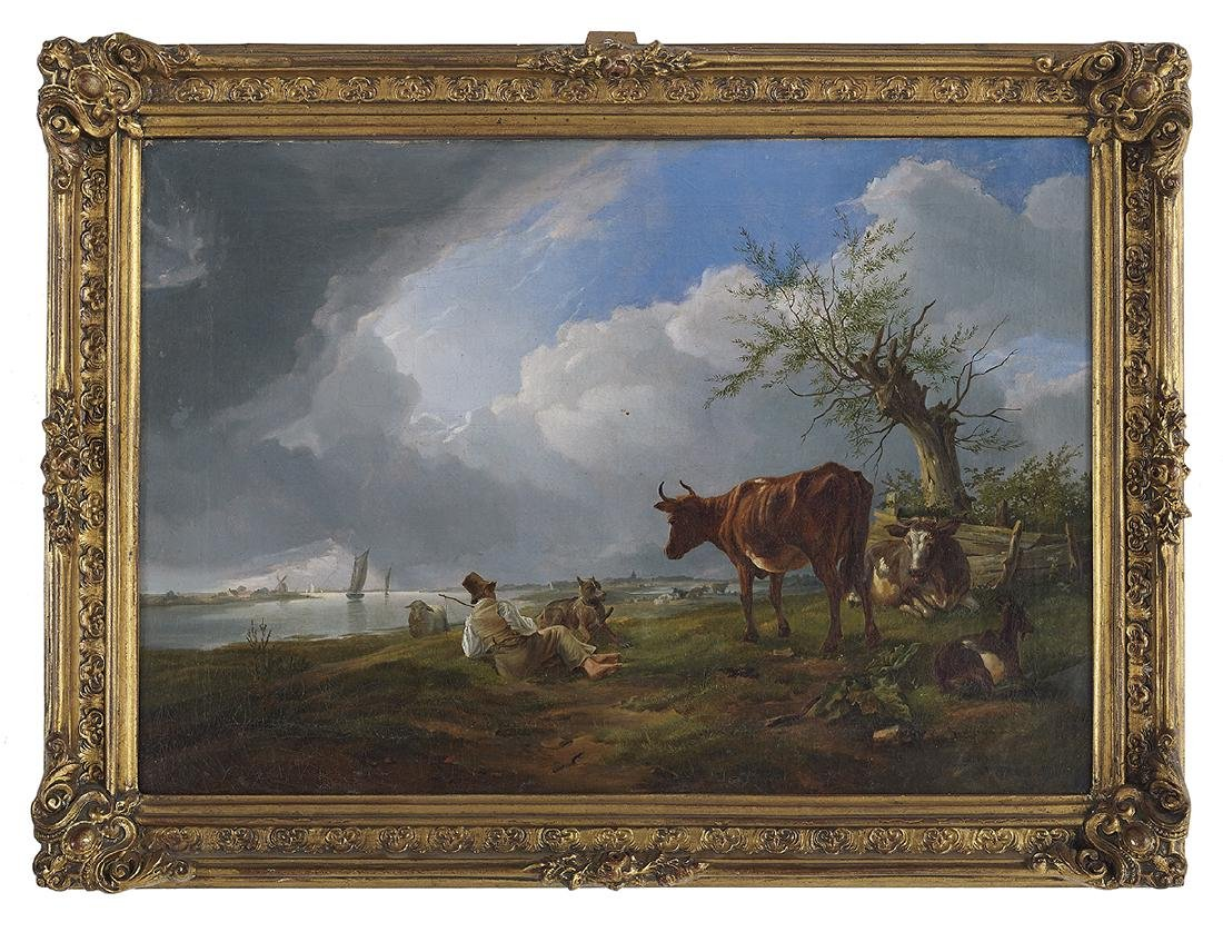 Foll. of Eug. Verboeckhoven (Belgian, 1798-1881)