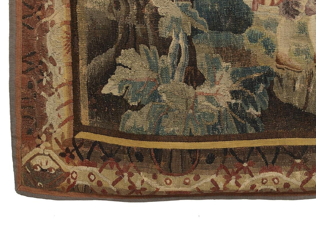 Verdure Tapestry of a Shepherd in a Lush Park - 3