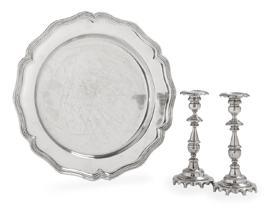 Three Pieces of Portuguese Silver