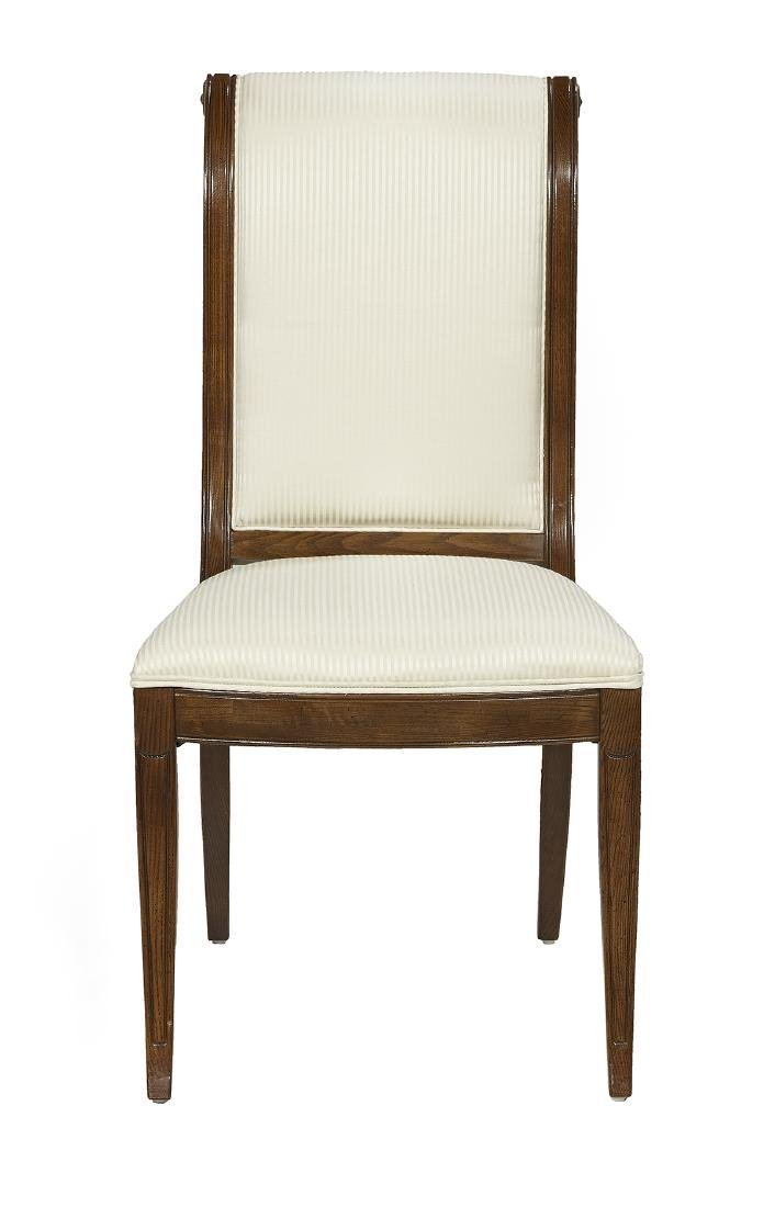 Suite of Eight Henredon Fruitwood Side Chairs - 2