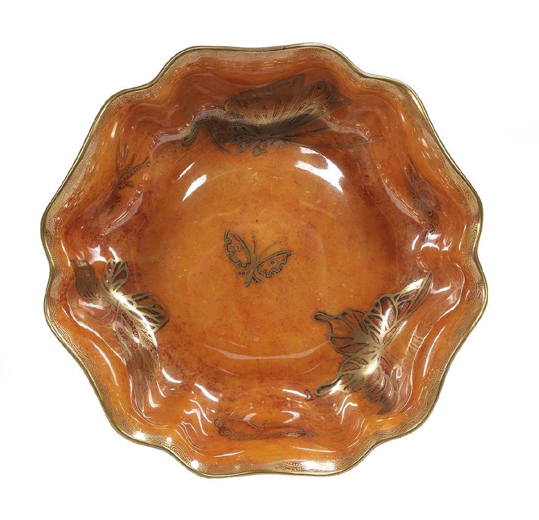 Four English Wedgwood Fairyland Lustre Bowls - 4
