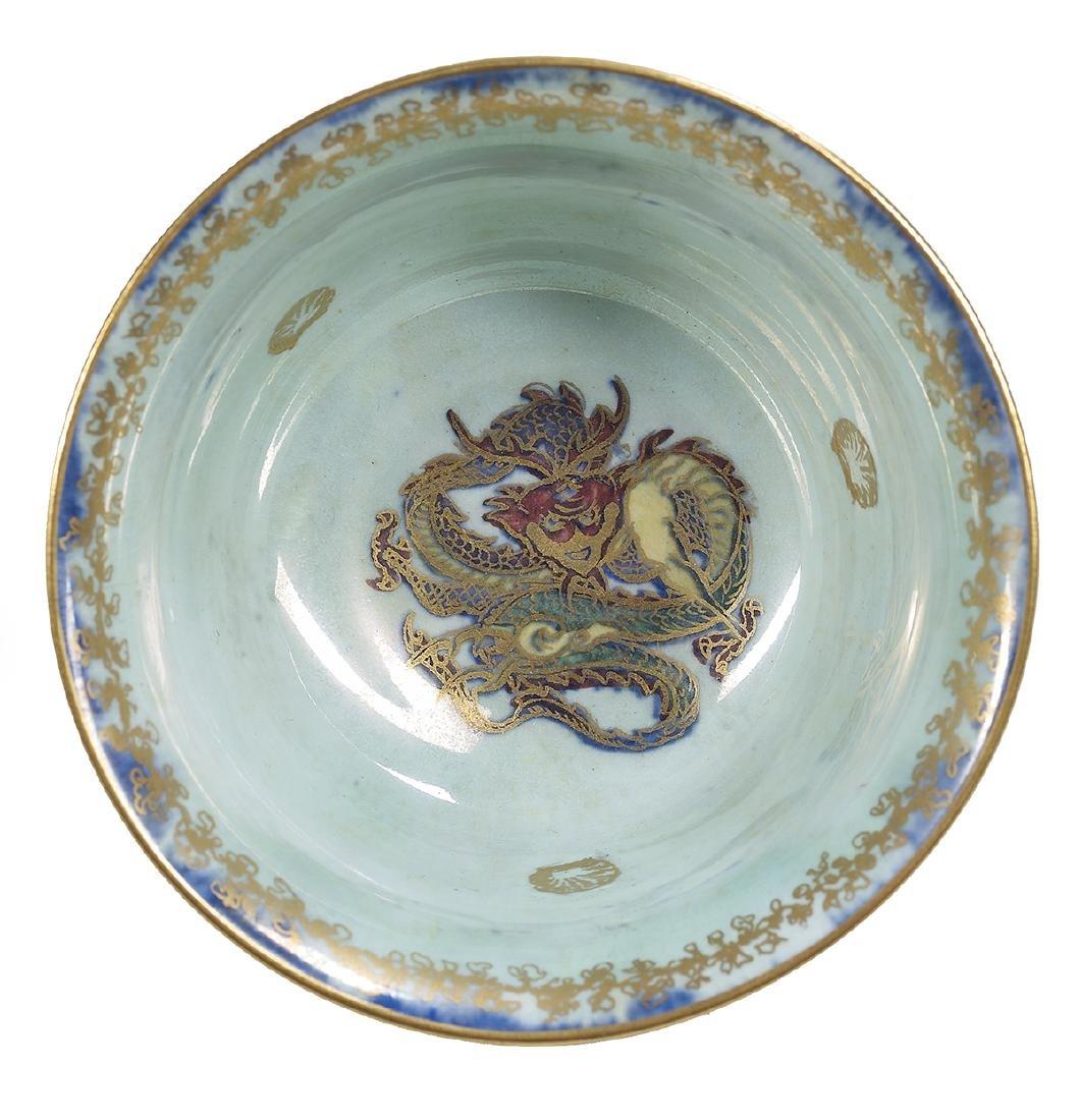 Four English Wedgwood Fairyland Lustre Bowls - 5