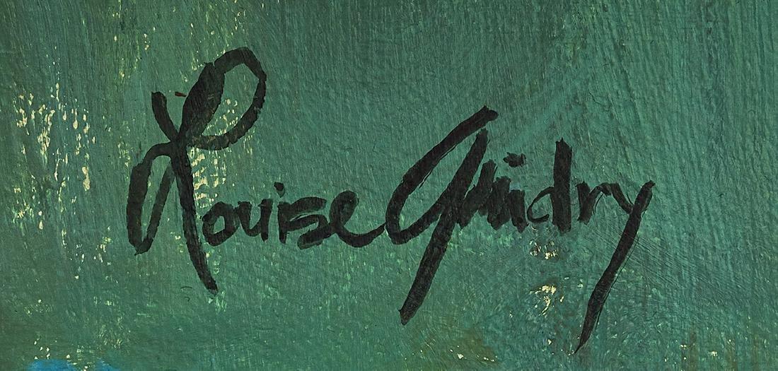 Louise Guidry (American/Louisiana, b. 1930) - 2