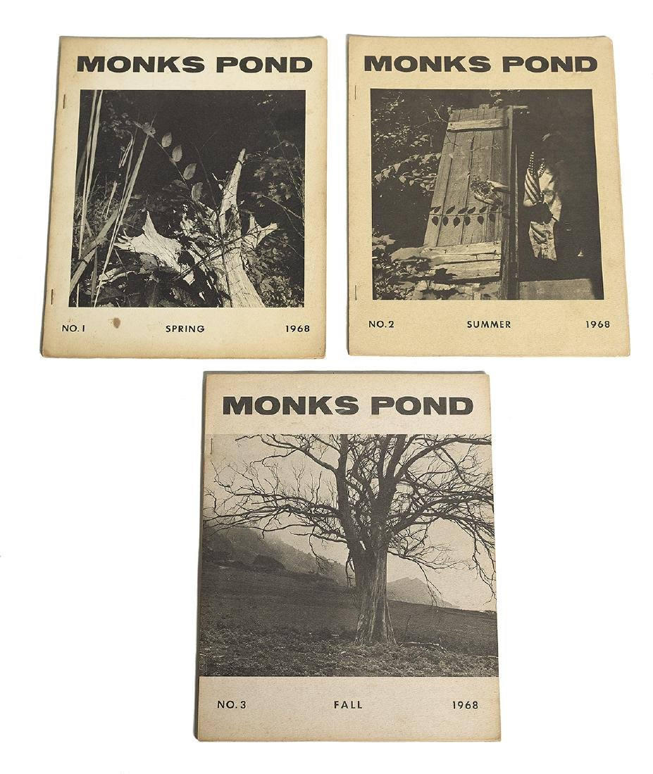 "Thomas Merton (1915-1968), ""Monks Pond"""