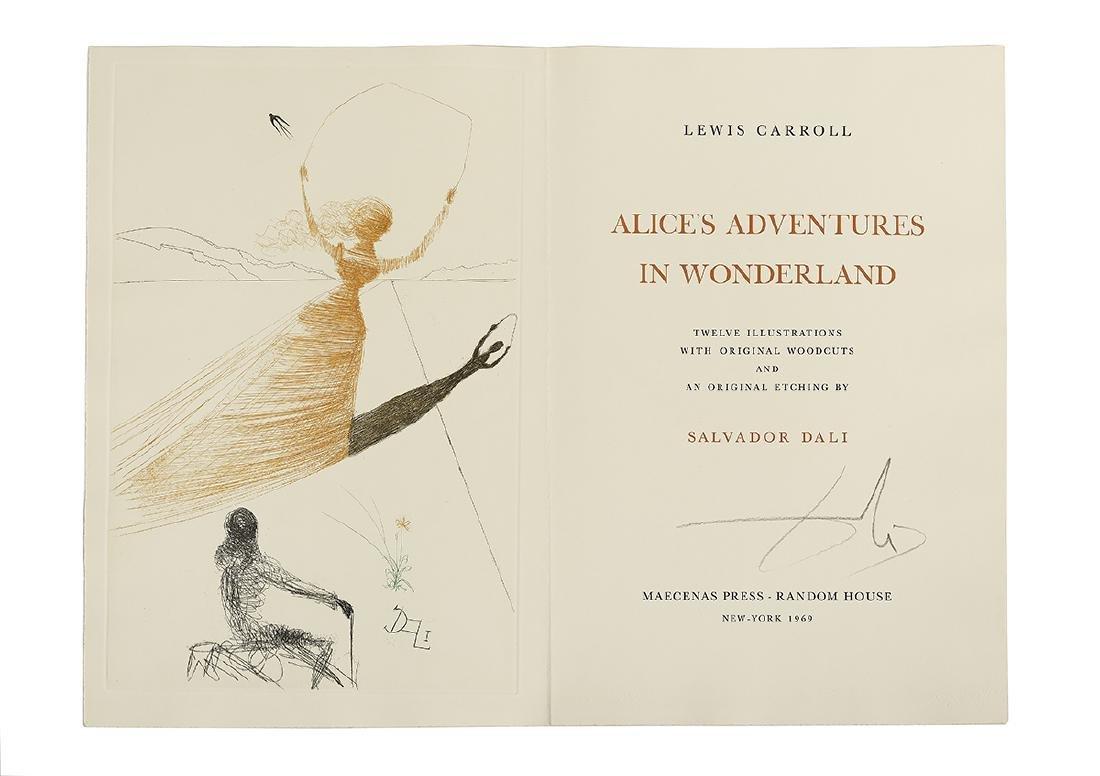 """L. Carroll & S. Dali, """"Alice's Adventures"""""""