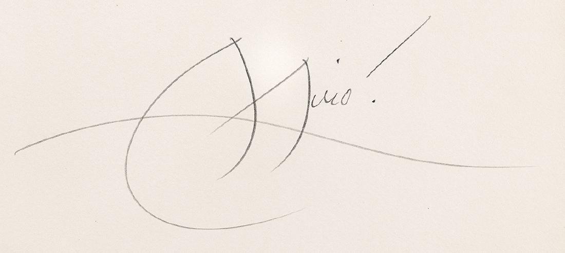 Joan Miro (Spanish, 1893-1983) - 2